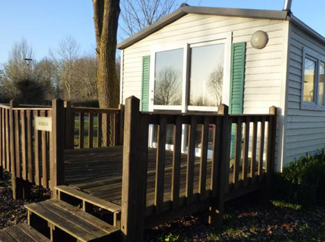 Mobil-home camping des cygnes