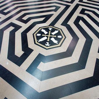 labyrinthe cathédrale amiens