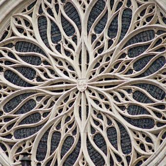 Rosace de la cathédrale