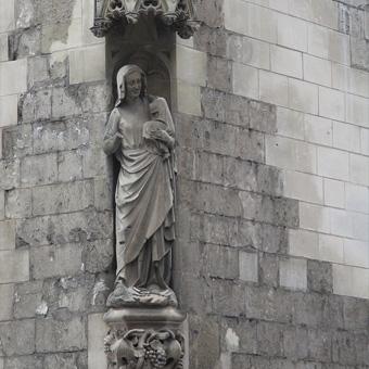 La vierge du Beffroi d'Amiens