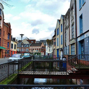 Amiens Saint Leu Place du Don