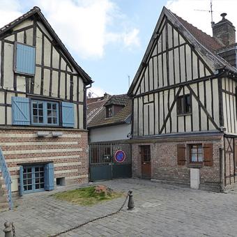 Amiens quartier Saint Leu